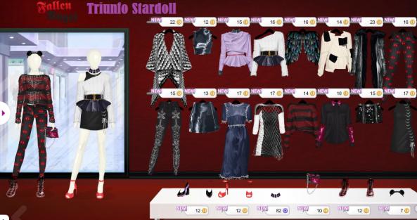 fallen angel tienda stardoll