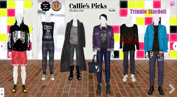 colección callie picks
