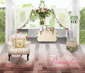 pretty love decor