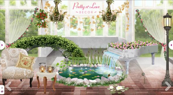 pretty love decor