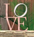 Letrero Love. Precio: 4 sd