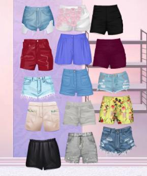 Los shorts,lo más básico para el verano :P